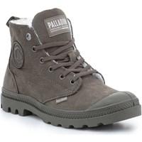 Schoenen Dames Laarzen Palladium Manufacture Pampa HI Zip WL 95982-213-M brown
