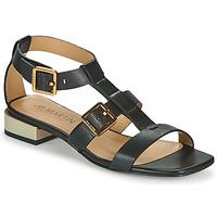 Schoenen Meisjes Sandalen / Open schoenen JB Martin HARIA Zwart