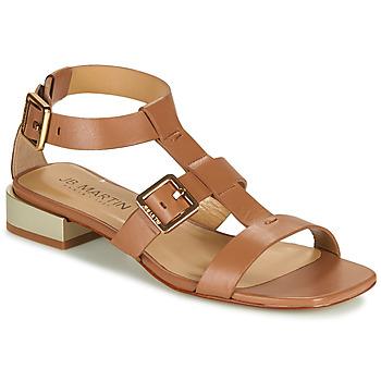 Schoenen Meisjes Sandalen / Open schoenen JB Martin HARIA Bruin