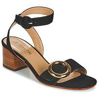 Schoenen Meisjes Sandalen / Open schoenen JB Martin OLAK Zwart