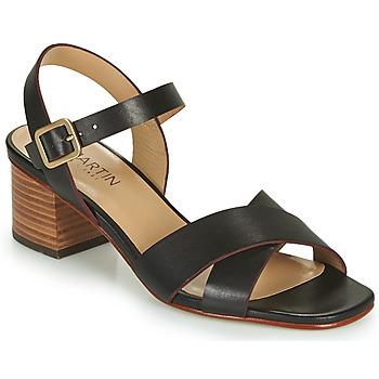 Schoenen Meisjes Sandalen / Open schoenen JB Martin OXIA Zwart