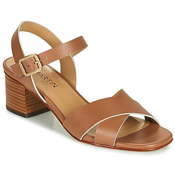 Schoenen Meisjes Sandalen / Open schoenen JB Martin OXIA Bruin