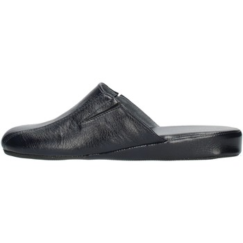 Schoenen Heren Leren slippers Clia Walk HOME115 Blue