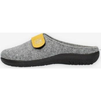 Schoenen Dames Leren slippers Clia Walk FLY6 Grey