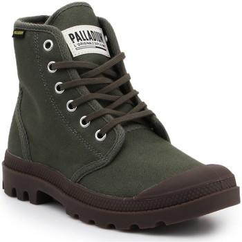 Schoenen Laarzen Palladium Pampa HI Originale 75349-326-M olive green