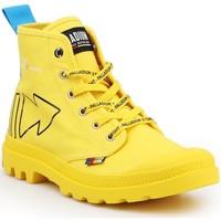 Schoenen Laarzen Palladium Pampa Dare REW FWD 76862-709-M yellow