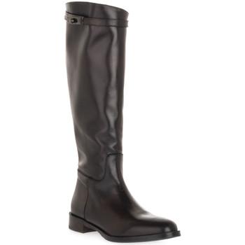 Schoenen Dames Hoge laarzen Priv Lab MORO NATURE Marrone