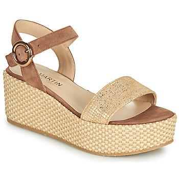 Schoenen Dames Sandalen / Open schoenen JB Martin 1CORSO Bruin