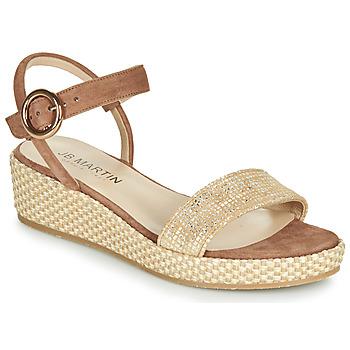 Schoenen Dames Sandalen / Open schoenen JB Martin 1JADENA Bruin