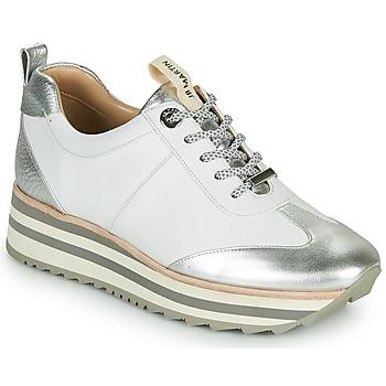 Schoenen Dames Lage sneakers JB Martin 4CANDIO Zilver / Wit