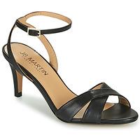 Schoenen Meisjes Sandalen / Open schoenen JB Martin POETIE Zwart