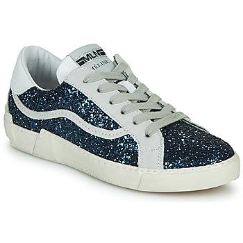 Schoenen Dames Lage sneakers Meline NKC1395 Marine