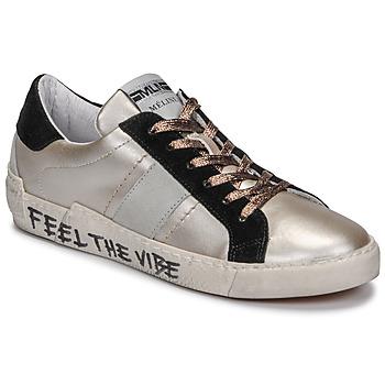 Schoenen Dames Lage sneakers Meline NK1382 Brons / Zwart