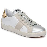 Schoenen Dames Lage sneakers Meline NK1381 Wit / Beige