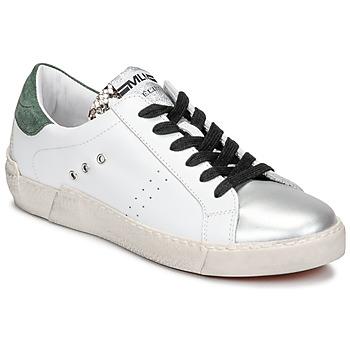 Schoenen Dames Lage sneakers Meline NKC1392 Wit / Groen