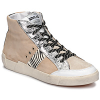 Schoenen Dames Lage sneakers Meline NK1384 Beige / Zebra