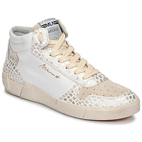 Schoenen Dames Hoge sneakers Meline NK1409 Wit / Croc