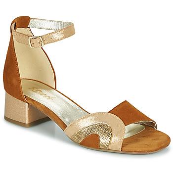 Schoenen Dames Sandalen / Open schoenen Sweet CHINOS Camel