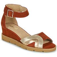 Schoenen Dames Sandalen / Open schoenen Sweet ETUVESS Bordeau / Goud