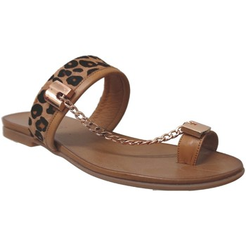 Schoenen Dames Sandalen / Open schoenen Inuovo 5258 CHAINE Lichtbruin