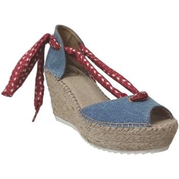 Schoenen Dames Sandalen / Open schoenen Toni Pons LARISA-J Blauw / rood canvas