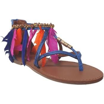 Schoenen Dames Sandalen / Open schoenen Metamorf'Ose TADLOC Blauw