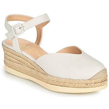 Schoenen Dames Sandalen / Open schoenen Unisa CEINOS Wit