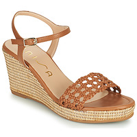 Schoenen Dames Sandalen / Open schoenen Unisa LOBI Camel