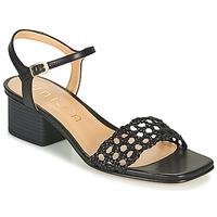 Schoenen Dames Sandalen / Open schoenen Unisa KEMPIS Zwart