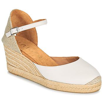 Schoenen Dames Sandalen / Open schoenen Unisa CACERES Wit