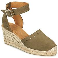 Schoenen Dames Sandalen / Open schoenen Unisa CLIVERS Kaki