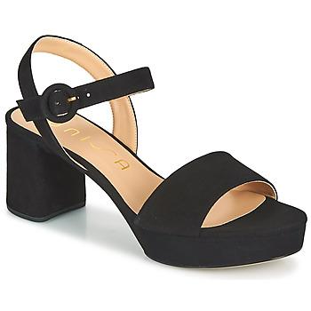 Schoenen Dames Sandalen / Open schoenen Unisa NENES Zwart