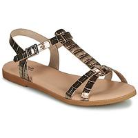 Schoenen Meisjes Sandalen / Open schoenen Citrouille et Compagnie OBIS Bruin
