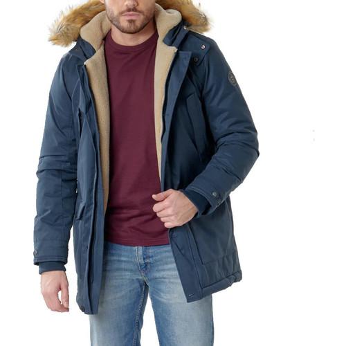 Textiel Heren Parka jassen Teddy Smith  Blauw