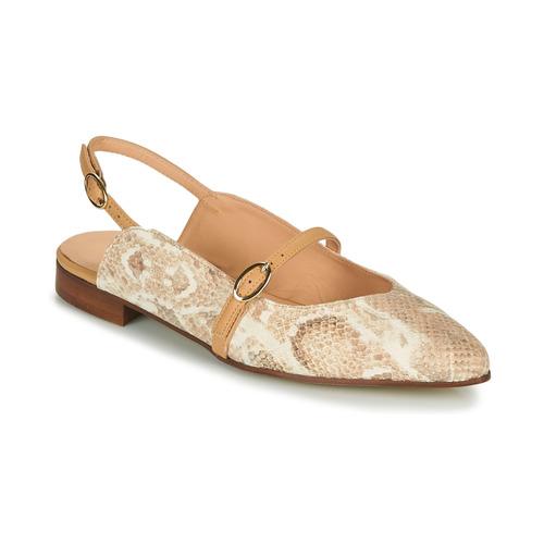 Schoenen Dames Ballerina's Fericelli SUSANNA Wit