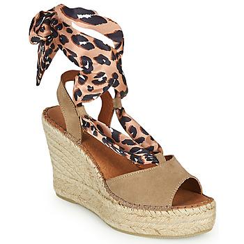 Schoenen Dames Sandalen / Open schoenen Fericelli SERRAJE Bruin