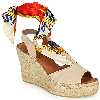 Schoenen Dames Sandalen / Open schoenen Fericelli SERRAJE Beige