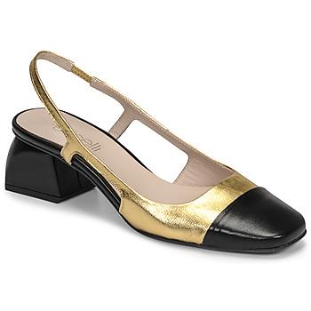 Schoenen Dames pumps Fericelli TOUBET Goud / Zwart