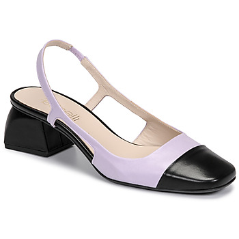 Schoenen Dames pumps Fericelli TOUBET Violet / Zwart