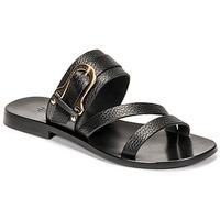 Schoenen Dames Sandalen / Open schoenen Fericelli STAMP Zwart
