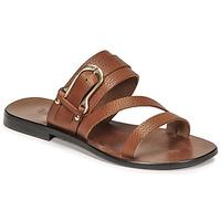 Schoenen Dames Sandalen / Open schoenen Fericelli STAMP Camel