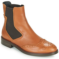 Schoenen Dames Laarzen Fericelli CRISTAL Camel