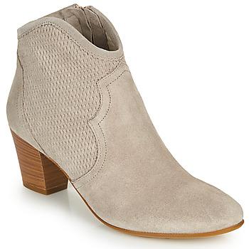 Schoenen Dames Enkellaarzen Fericelli CROSTA Camel