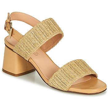 Schoenen Dames Sandalen / Open schoenen Fericelli MARRAK Beige