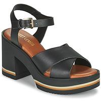 Schoenen Dames Sandalen / Open schoenen Sweet Lemon LUPOLE Zwart