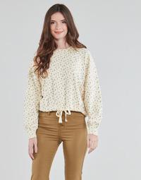 Textiel Dames Sweaters / Sweatshirts Levi's CINCHED CREW SWEATSHIRT Beige