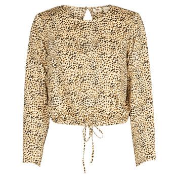 Textiel Dames Overhemden Levi's AMMOLITE SHIFTING SAND Beige