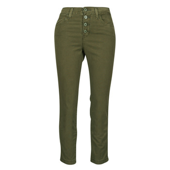 Textiel Dames 5 zakken broeken Levi's SOFT CANVAS OLIVE NIGHT OD Kaki