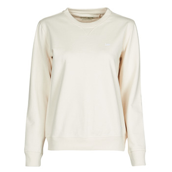 Textiel Dames Sweaters / Sweatshirts Lee SUSTAINABLE SWS ECRU MELE Wit