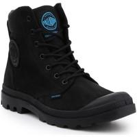 Schoenen Heren Laarzen Palladium Manufacture Pampa Cuff WP LUX 73231-001-M black